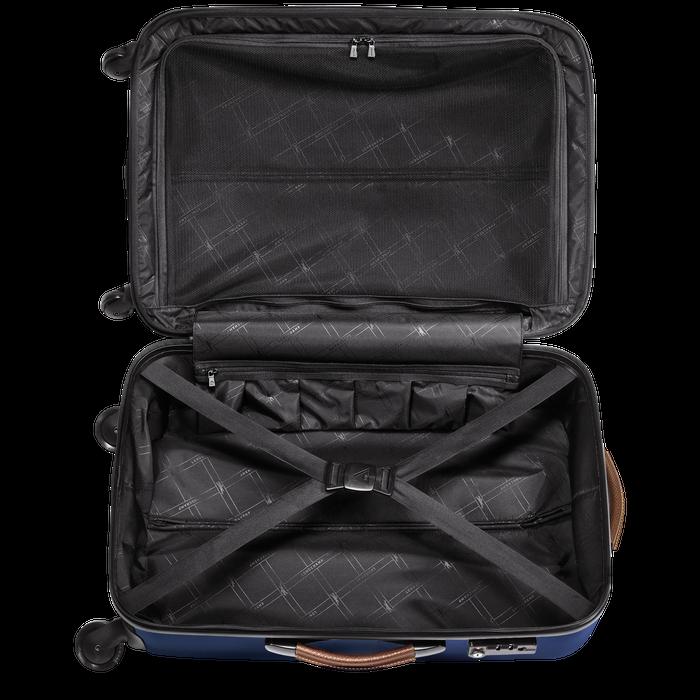 Koffer, Blauw - Weergave 3 van  3 - Meer inzoomen.