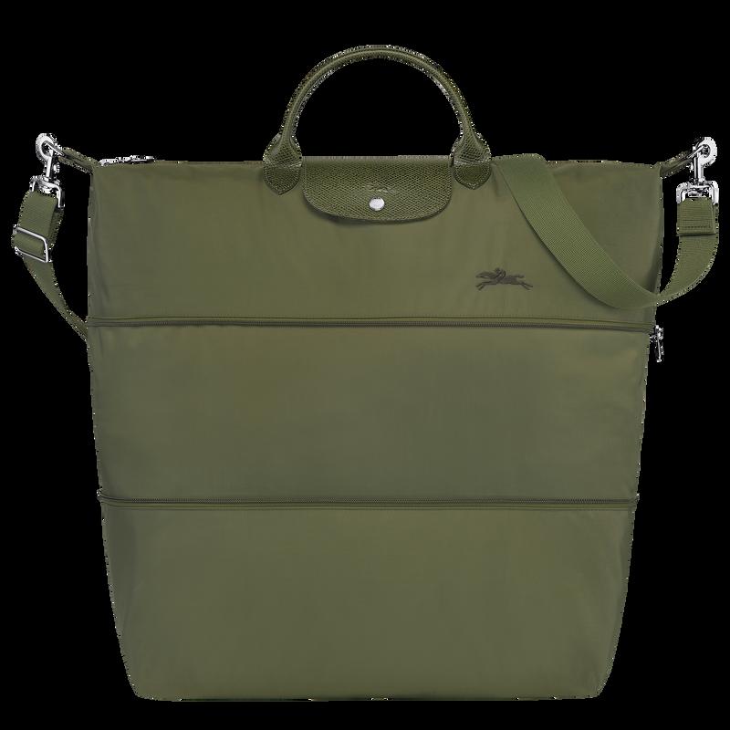 Le Pliage Green Travel bag expandable, Forest
