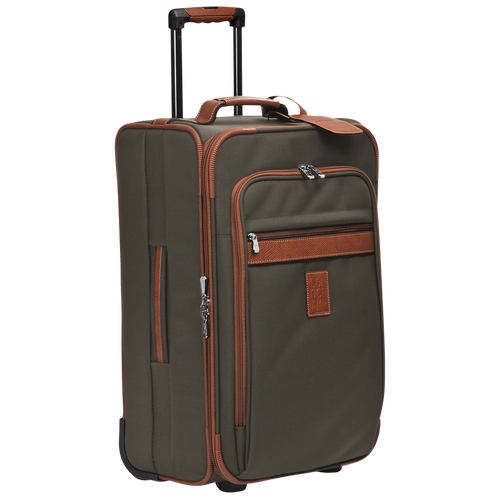 Cabin suitcase, Brown, hi-res - View 2 of 3