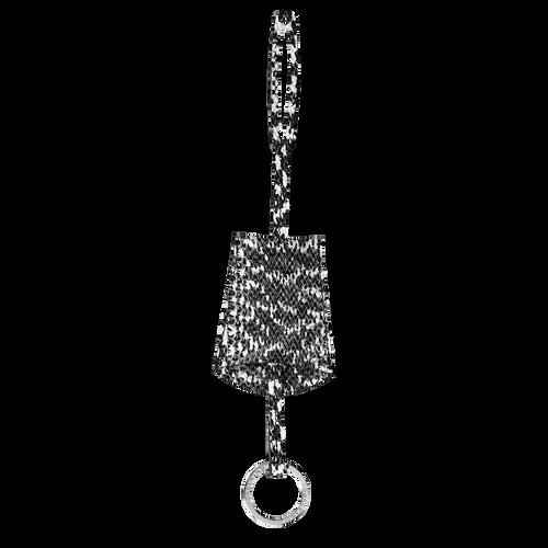Vue 1 de Porte-clés, Noir/Blanc, hi-res