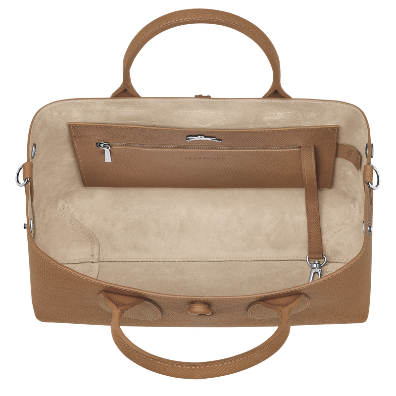Top handle bag M, Natural - View 5 of  5 - zoom in