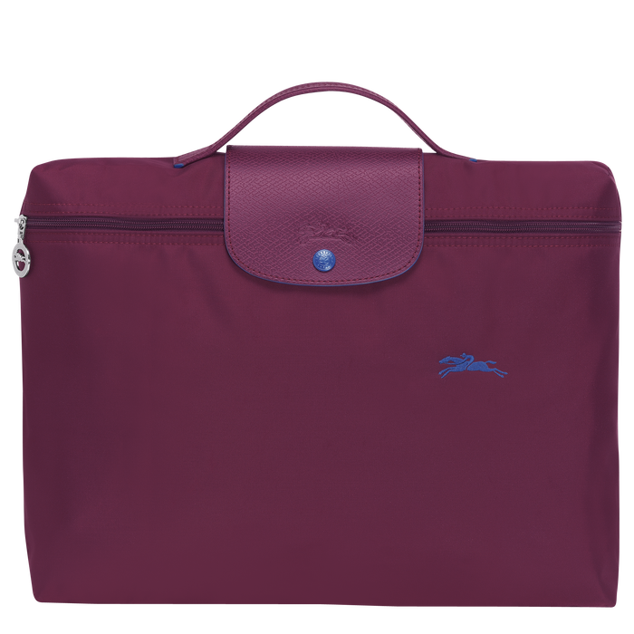 Briefcase, Plum, hi-res - View 1 of 4