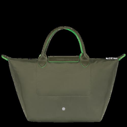 Sac porté main M, Vert Longchamp - Vue 3 de 5 -