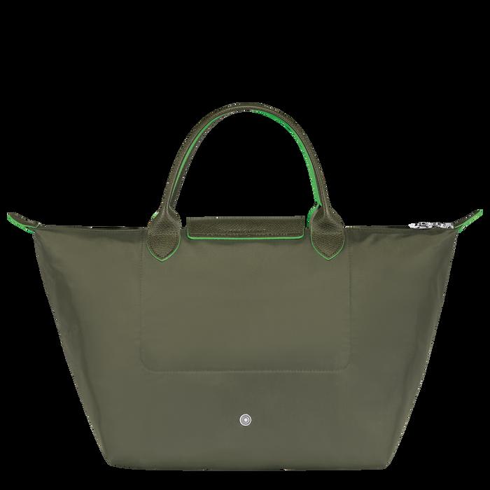 Sac porté main M, Vert Longchamp - Vue 3 de 5 - agrandir le zoom