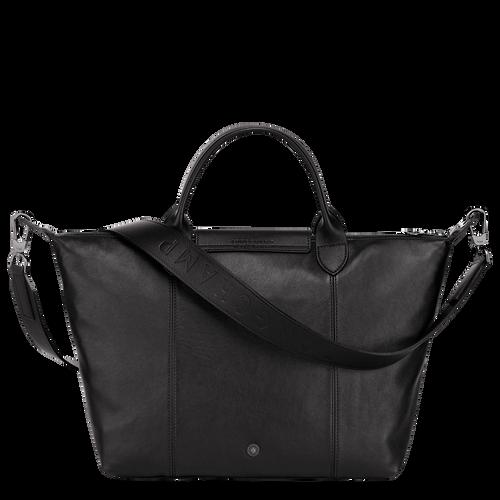 Top handle bag M, Black/Ebony - View 3 of  5 -