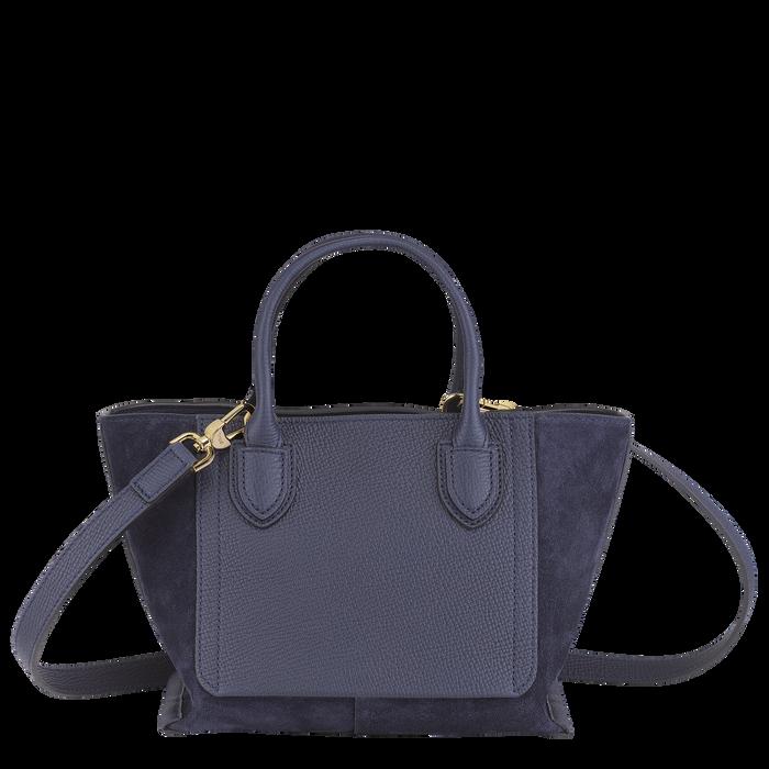 Top handle bag S, Navy - View 3 of  3 - zoom in
