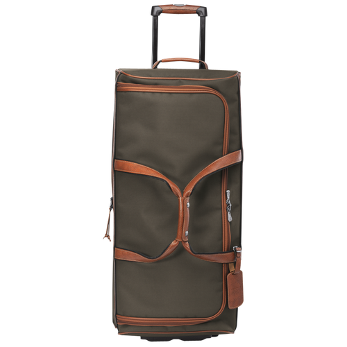 Wheeled duffle bag, Brown, hi-res - View 1 of 3
