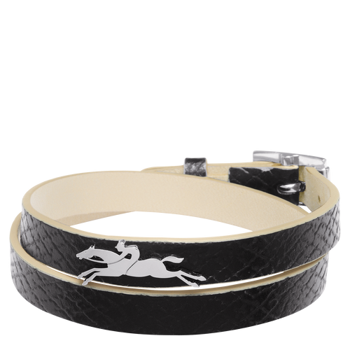 Vue 1 de Bracelet double tours, Noir, hi-res