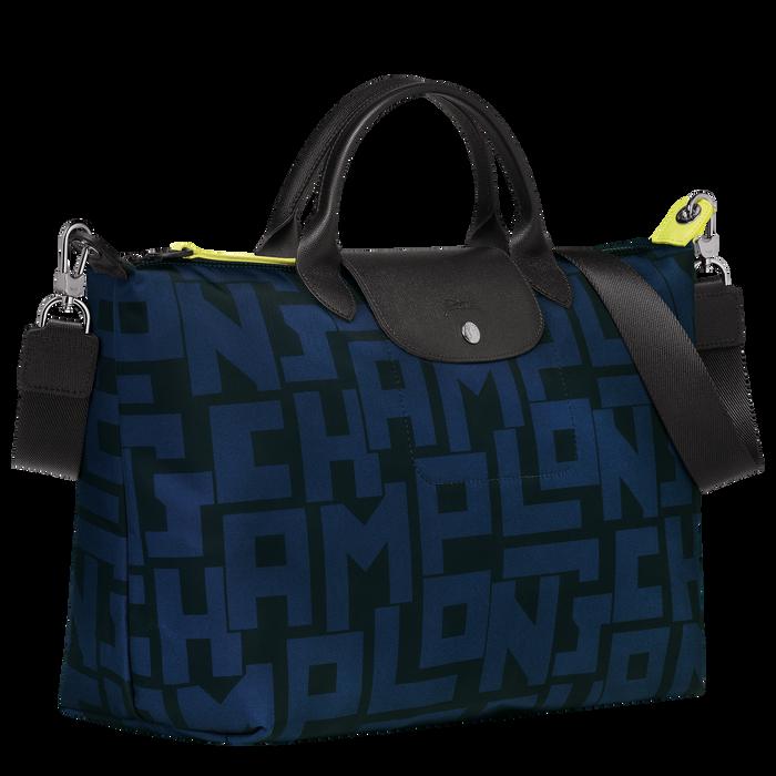 Top handle bag L, Black/Navy - View 2 of 4 - zoom in