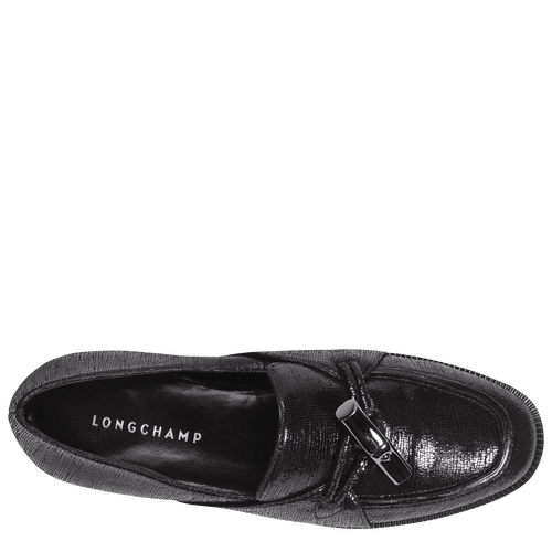 View 3 of Loafers, Black, hi-res