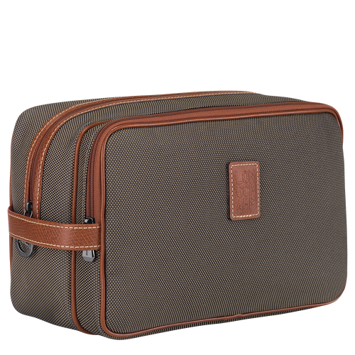 Toiletry case, Brown - View 2 of  3 -