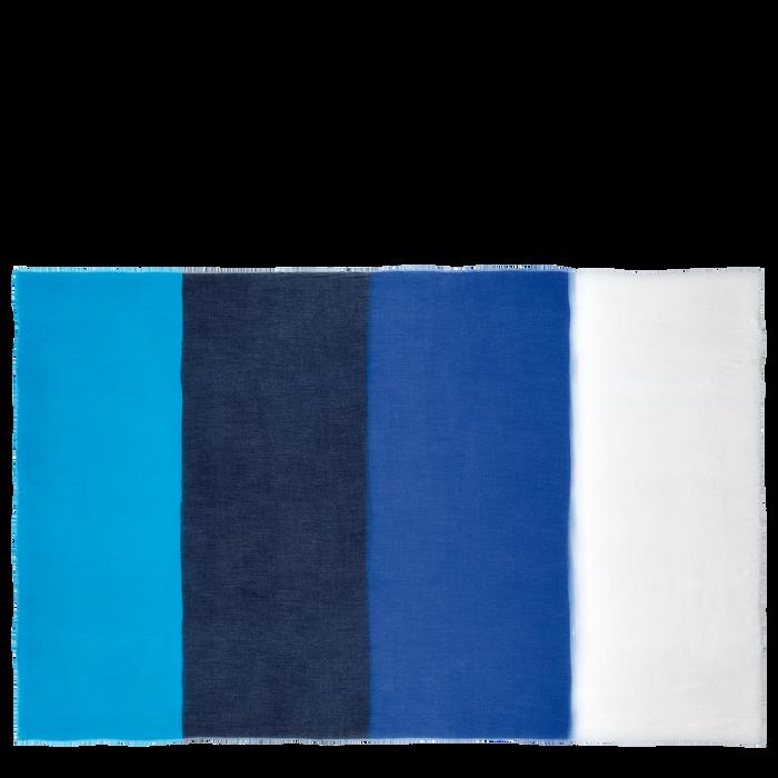 Colección primavera-verano 2021 Estola de mujer, Azul
