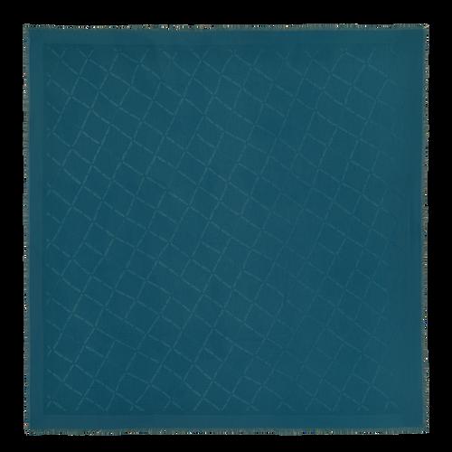 Herbst-Winter-Kollektion 2021 Damenschal, Ozeanblau