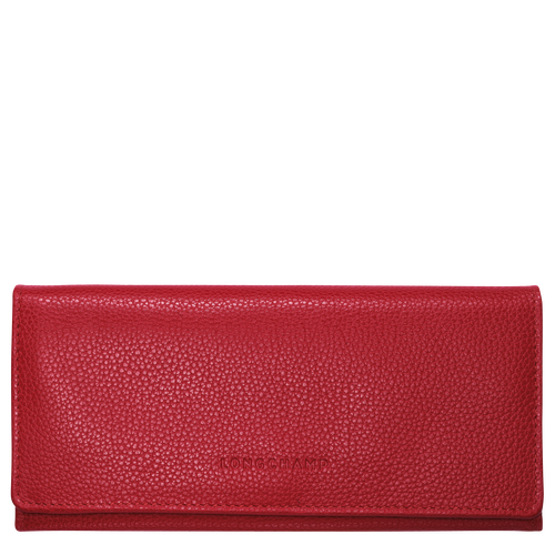 Cartera continental grande, Rojo, hi-res - View 1 of 2