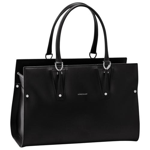 Shopper L, 001 Zwart, hi-res