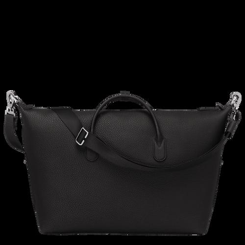 Reisetasche, Schwarz/Ebenholz - Ansicht 3 von 3 -