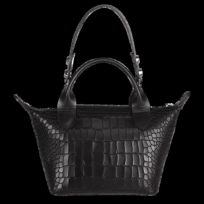 Top handle bag XS, Black/Ebony - View 3 of  3 - zoom in