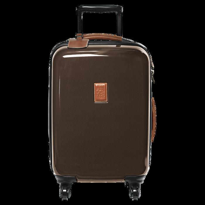 Koffer voor handbagage, Bruin - Weergave 1 van  3 - Meer inzoomen.