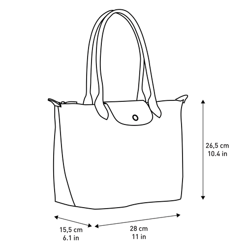 Shoulder bag S, Navy - View 5 of  5 -