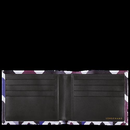 Wallet, Mahogany/Blue - View 2 of  2 -