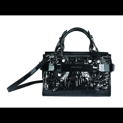 Small tote bag, 001 Black, hi-res