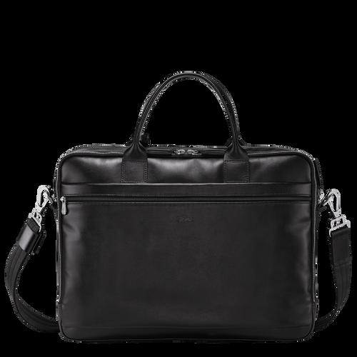 Briefcase M, Black, hi-res - View 3 of 3