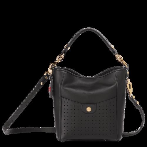 Mademoiselle Longchamp Sac porté épaule S, Noir