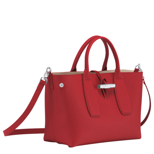 Top handle bag M, Red - View 3 of 5 -
