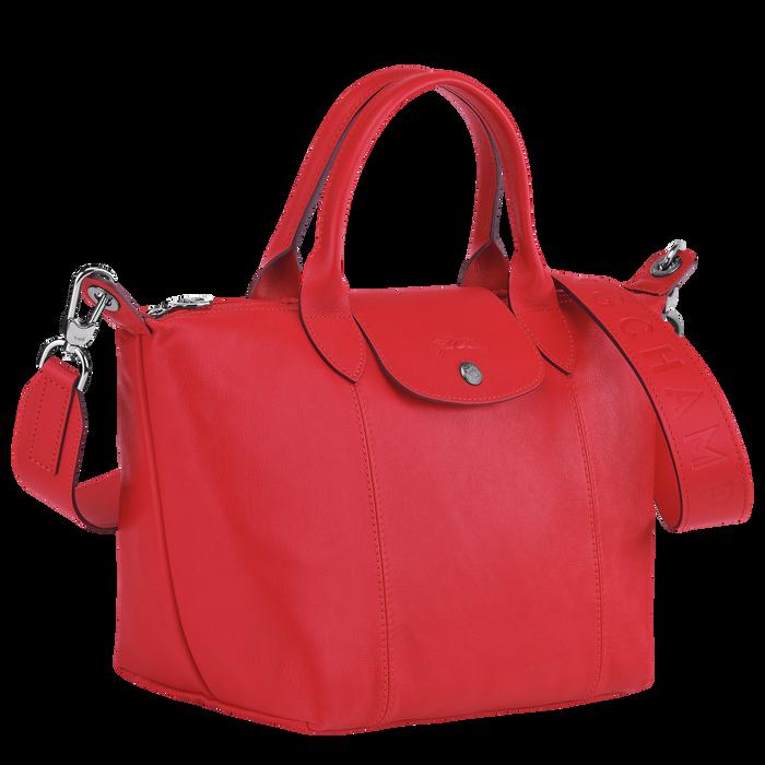 Top handle bag, Red, hi-res - View 3 of 3