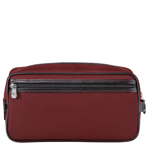 Toiletry case, Red lacquer - View 3 of  3 -