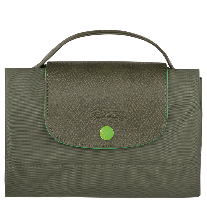Briefcase S, Longchamp Green - View 4 of  5 - zoom in