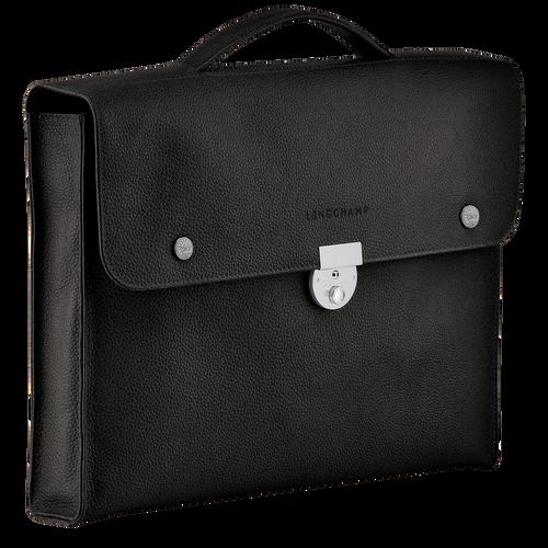 View 2 of Briefcase S, Black, hi-res