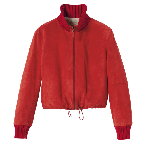 Fall-Winter 2021 Collection Jacket, Red Kiss