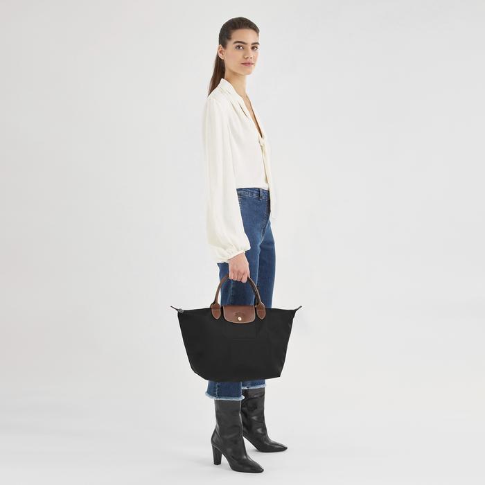 Handtasche M, Schwarz - Ansicht 2 von 8.0 - Zoom vergrößern