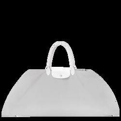 Top-handle bag L, E61 Grey/White, hi-res