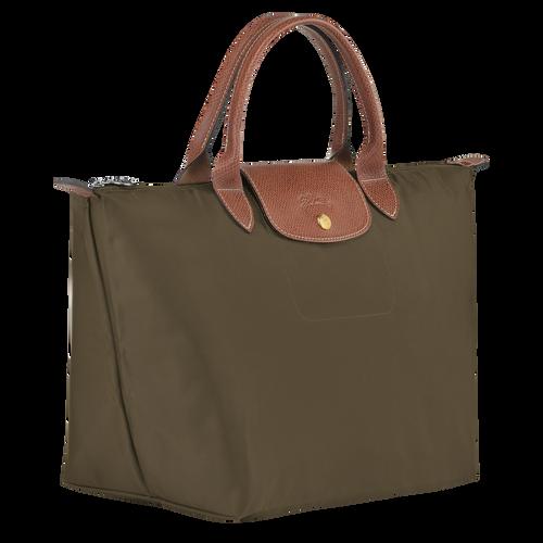 Top handle bag M, Khaki, hi-res - View 2 of 4