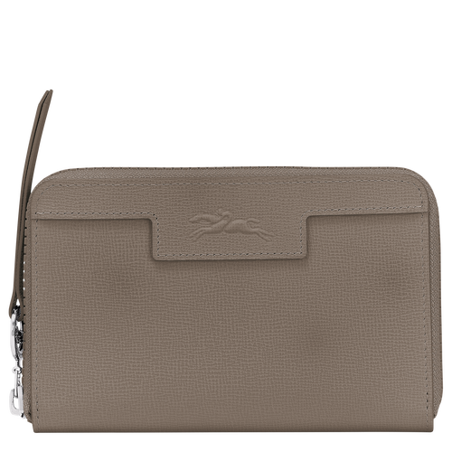 Le Pliage Néo Compact wallet, Taupe