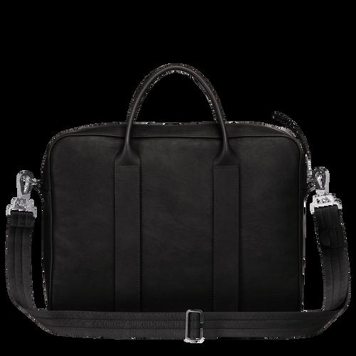 Longchamp 3D Maletín M, Negro