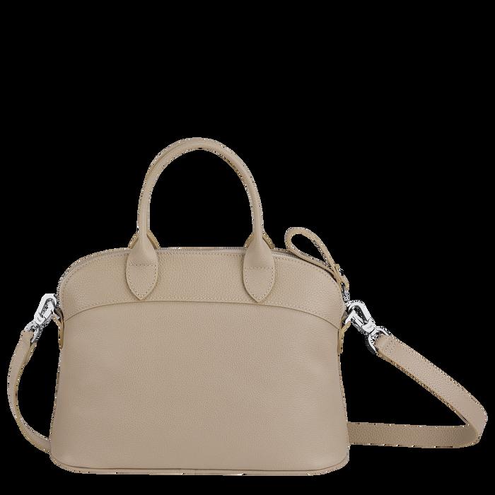 Top handle bag S, Beige - View 3 of  3.0 - zoom in