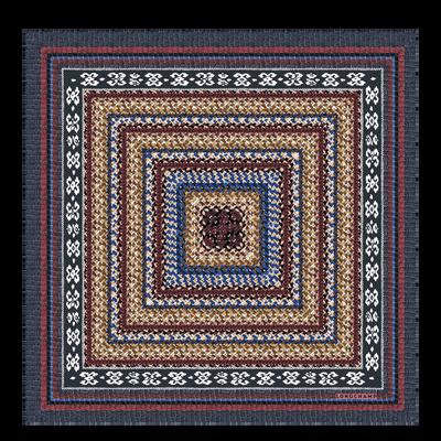 Weergave 1 van Zijden sjaal bekijken