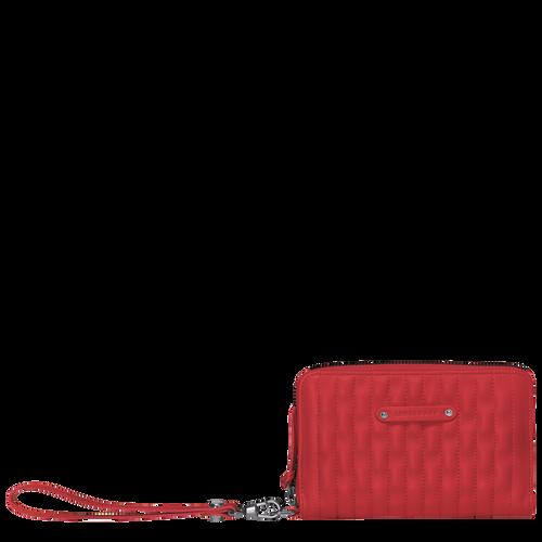 小型錢包, 紅色, hi-res - 1 的視圖 2