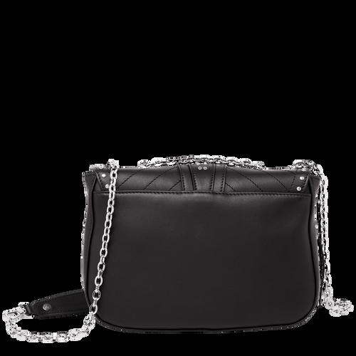 Hobo bag S, Black, hi-res - View 3 of 3