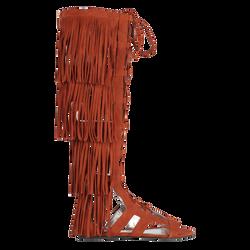 Sandales plates, 504 Cognac, hi-res