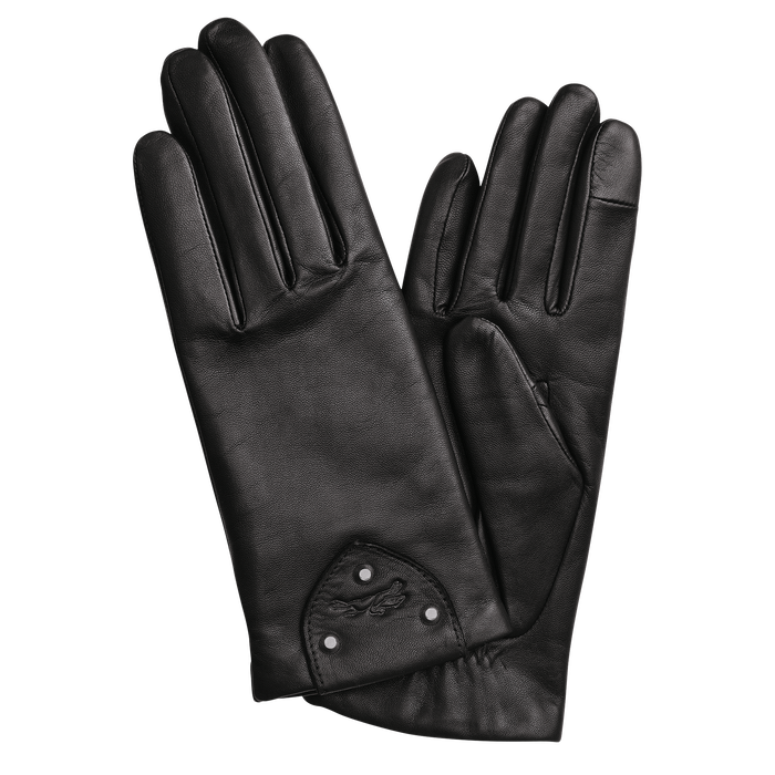 Ladies' gloves, Black/Ebony - View 1 of  1 - zoom in