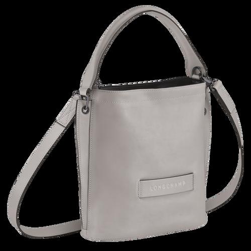 Longchamp 3D メッセンジャーバッグ, グレー