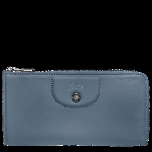 Long zip around wallet, Nordic, hi-res - View 1 of 2