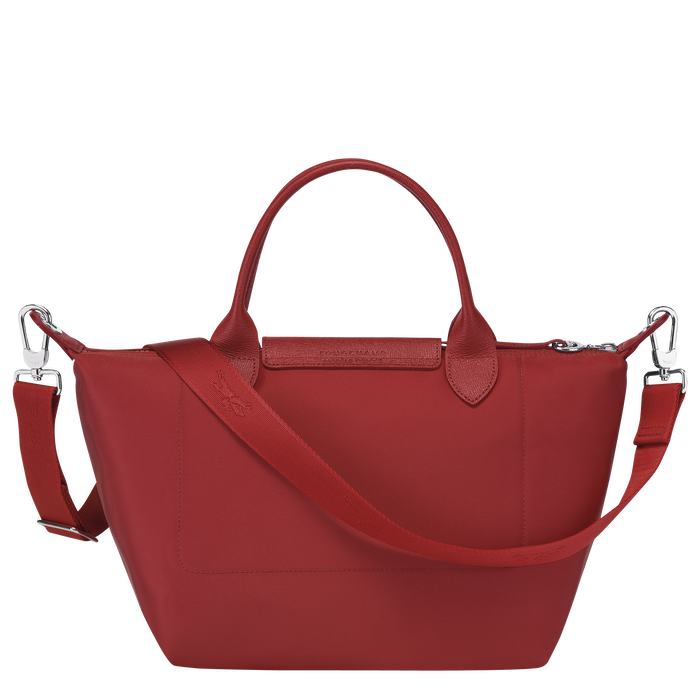 Top handle bag, Red, hi-res - View 3 of 3