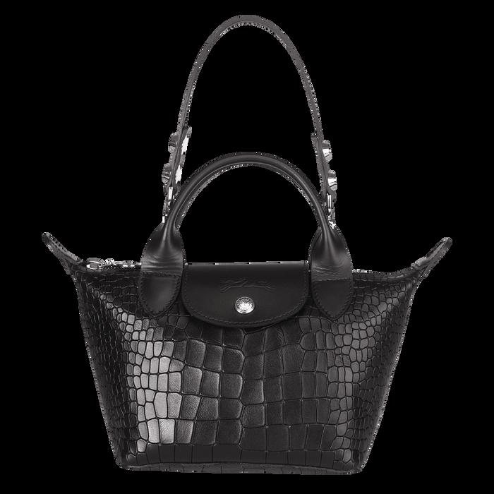 Top handle bag XS, Black/Ebony - View 1 of  3 - zoom in