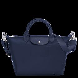 Top handle bag M, Navy