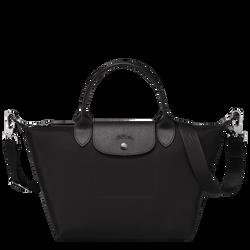 Top handle bag S, Black/Ebony